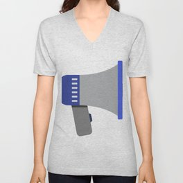 megaphone Unisex V-Neck
