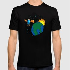 the other window MEDIUM Mens Fitted Tee Black