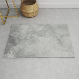 Grunge white gray Rug
