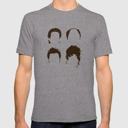 Seinfeld Hair Square T-shirt