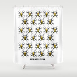 Hornets Nest Shower Curtain
