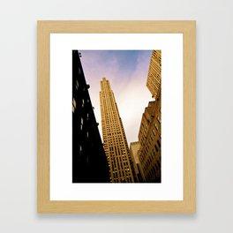 New York Morning  Framed Art Print