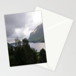 Foggy Mountain Views Stationery Cards