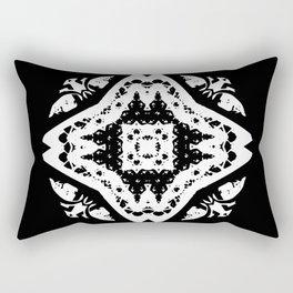 Callisto I (White) Rectangular Pillow