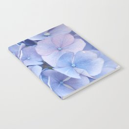 Blue Hydrangeas #3 #decor #art #society6 Notebook