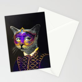 Cool Animal Art - Cat Stationery Cards