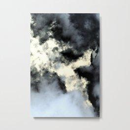 Smoke abstract Metal Print