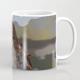 Chicken Hawk Starring Down At Me Coffee Mug