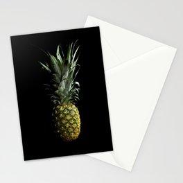 Dark Pineapple Stationery Cards
