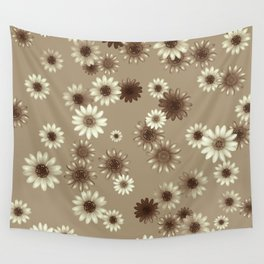 Multicolored natural flowers 12 Wall Tapestry