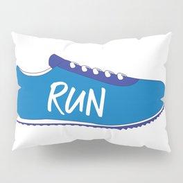 Running Shoes Pillow Sham