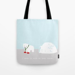 Snowbeary Tote Bag
