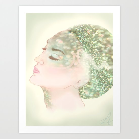 Salacia, Queen of Mermaids Art Print