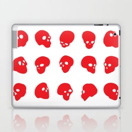 redhead - red on white Laptop & iPad Skin