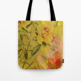 hi-def hibiscus Tote Bag