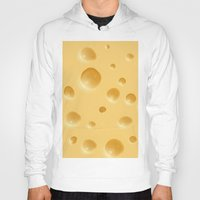 cheese Hoodies featuring cheese by rchaem