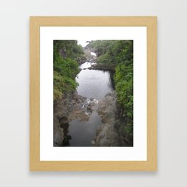 The Seven Pools Framed Art Print
