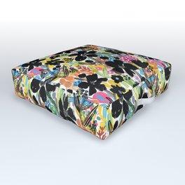 Summer Floral 20 Outdoor Floor Cushion