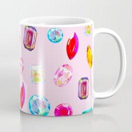 Rhinestone Reverie in Pink Coffee Mug