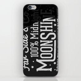 Midnight Moonshine iPhone Skin