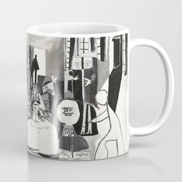 Pablo PIcasso The Maids Of Honor, Las Meninas, after Velázquez, 1957 Artwork Reproduction, Tshirts, Coffee Mug