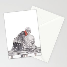 Boy Meets Girl Stationery Cards