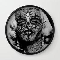 monroe Wall Clocks featuring Monroe by mothafuc