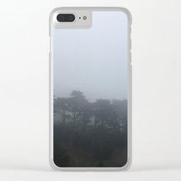 Fog in San Francisco Clear iPhone Case
