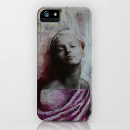 Painted Statue iPhone Case