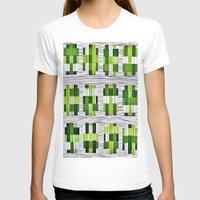 grass T-shirts featuring Grass by Yukska