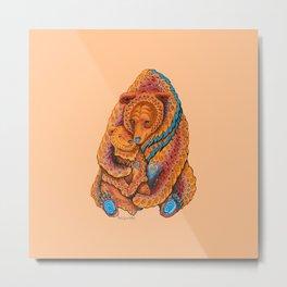 Mother Bear Metal Print
