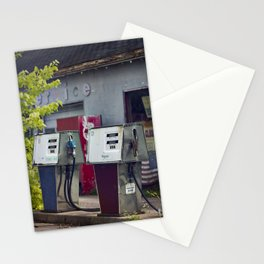 Service Stations of the Past Stationery Cards
