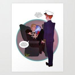Cabinlock Art Print
