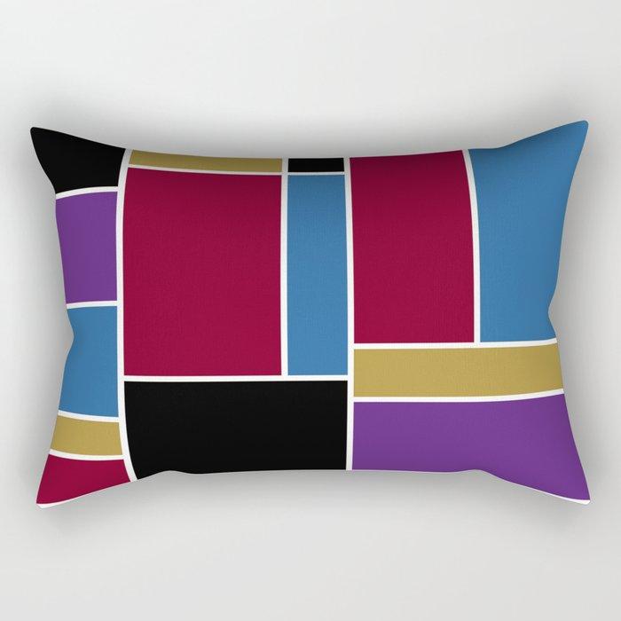 Abstract #419 Rectangular Pillow