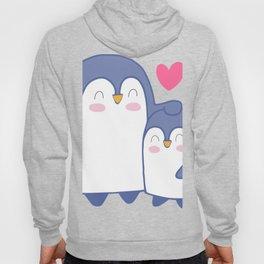 Cute Penguin Love Hoody