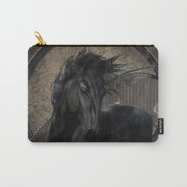 Gothic Friesian Horse Carry-All Pouch