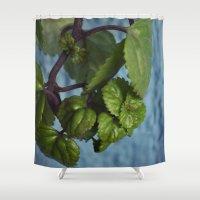 swedish Shower Curtains featuring Swedish ivy by Camaracraft