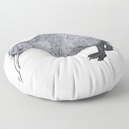 Kiwi Bird Floor Pillow