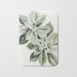 Sedum Succulents Bath Mat