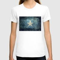 islam T-shirts featuring Somalian national flag - Vintage version by Bruce Stanfield
