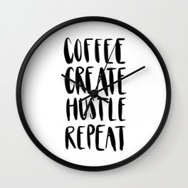 the daily grind Wall Clock