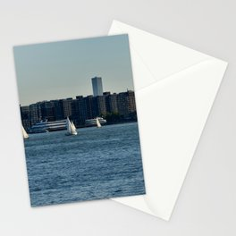 Sailing on the Hudson River Stationery Cards