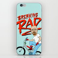 breaking iPhone & iPod Skins featuring Breaking Rad by Chris Piascik
