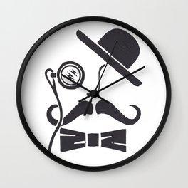 Vintage Chap Wall Clock