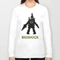 bioshock Long Sleeve T-shirts featuring Bioshock by Pixel Design