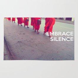 Embrace Silence Rug