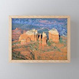 Cathedral Rock Framed Mini Art Print