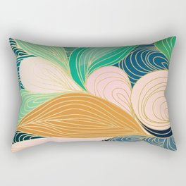 Swirly Interest Rectangular Pillow