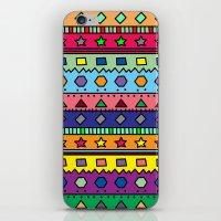 doodle iPhone & iPod Skins featuring Doodle by Kat Mun