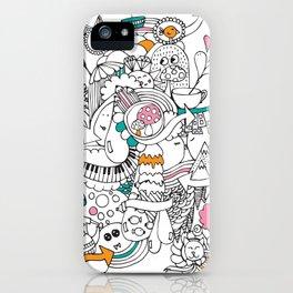 My Happy Doodle iPhone Case